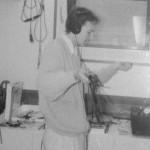 1989 beim Schnitt an der Bandmaschine PR-99 (Bild: privat)